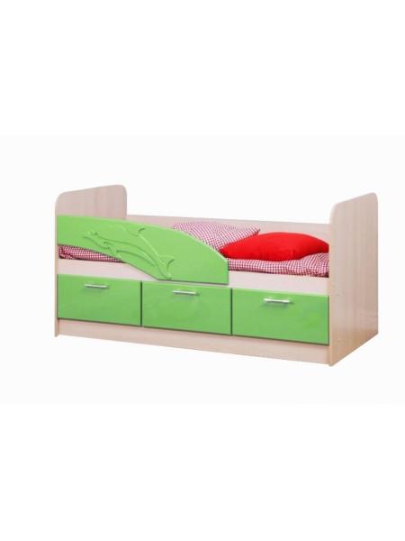 Кровать 06.223 Дельфин (эвкалипт)